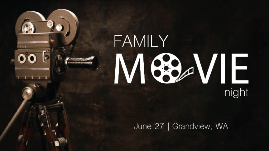 familymovie night